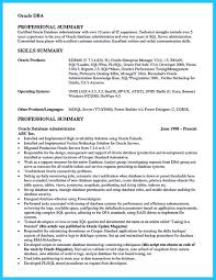 Oracle Dba Resume Example Sample Dba Resume Oracle Samples Database Administrator India With 19