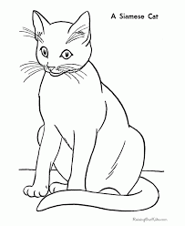 Small Picture Cat Coloring Pages Printable line drawings online Cat Coloring