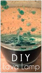 Diy Lava Lamp Science Experiment For Kids