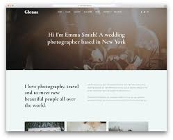 29 Best Stunning Free Photography Website Templates 2019
