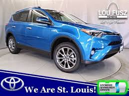2018 toyota electric. Perfect Electric T180158  2018 Toyota RAV4 Hybrid Limited Electric Storm Blue Lou Fusz To Toyota Electric