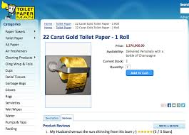 gold flake toilet paper. who will buy the $1.3 million gold toilet paper roll flake p