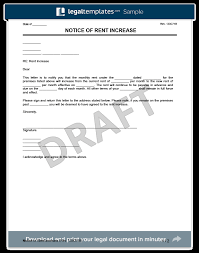 how to write a rent increase notice create a rent increase notice in minutes legal templates