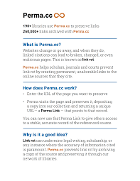 Perma On The Web Permacc Blog