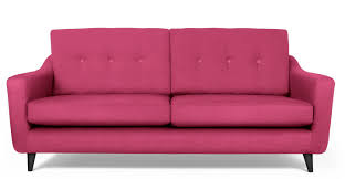 Furniture Mesmerizing Perky Pink Sofa Decorating Ideas Hot Pink