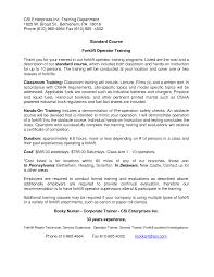 Forklift Operator Resume Haadyaooverbayresort Com