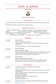 Resume Of Computer Engineer Computer Engineers Resume