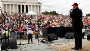 Image result for trump goes to DC pics