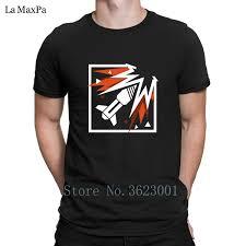 Mens Rainbows Size Chart Create Fun Tshirt Mens Rainbow Six Siege Ash Tee Shirt Homme