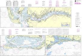 Noaa Intracoastal Waterway Charts Noaa Chart 11427 Intracoastal Waterway Fort Myers To Charlotte Harbor And Wiggins Pass