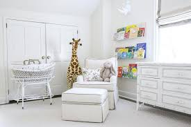nursery with white furniture. Nursery With White Bamboo Dresser Furniture