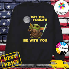 Official Star Wars Baby Yoda May The Fourth Be With You Shirt, hoodie,  sweater, long sleeve and tank top