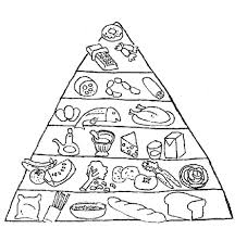 Small Picture Food Pyramid With Fish And Other Ingredients Coloring Pages
