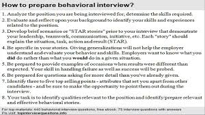 list of behavioral interview questions list of behavioral interview questions