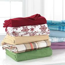 brylanehome studio cotton print flannel sheet set