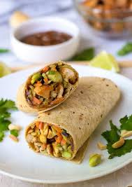 Asian chicken wraps recipes