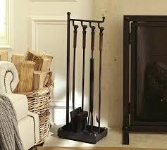 fireplace toolset brass duck head fireplace tool set