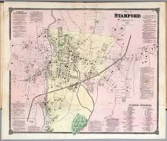 plan of stamford connecticut  david rumsey historical map