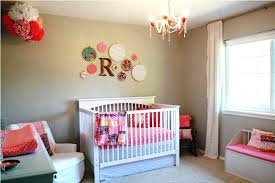 baby girl room chandelier. Gray Baby Girl Nursery Hanging Chandelier Matching Tie Back White Comfy Sofa Awesome Lighting Toy Decal Room M