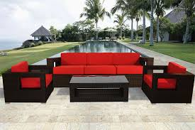modern patio furniture. Moda Wicker Modern Patio Furniture \u2013 Luxury Outdoor S