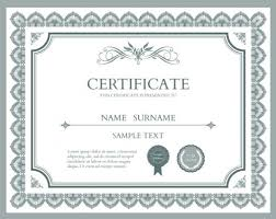Certificate Template Photoshop 10 Sets Of Free Certificate Design Templates Designfreebies