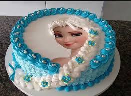 Elsa Cake Frozen Theme 1 Food Drinks Baked Goods On Carousell
