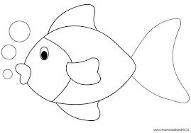 Disegno Pesce Da Stampare Per Bambini Mamma E Bambini Con Immagini