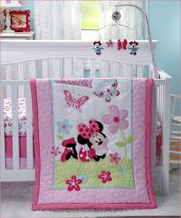 bedding cribs american baby company oval toy bag country grey minnie mouse crib set 5