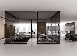 interior office partitions. frameless glass partitions tinted w bright surroundings interior office