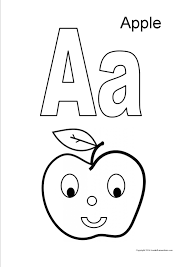 47 Preschool Apple Coloring Pages Apple Coloring Pages For