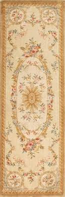 4 x 12 runner rug heritage multi 5 ft hand knotted thick and plush wool french 4 x 12 runner rug