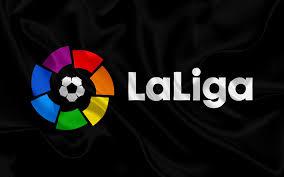 Download la liga logo spanish football league logo full size. Download Wallpapers La Liga Spain Emblem La Liga Logo Spanish Football Championships Football Besthqwallpapers Com La Liga Lionel Messi Live Football Match