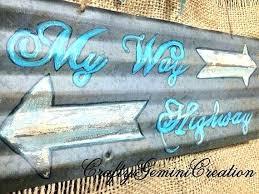 drawn sign corrugated metal signs beer