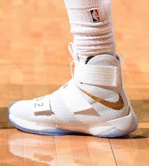 lebron james shoes 2016. cleveland, oh - june 16: shoes worn by lebron james #23 of the lebron 2016