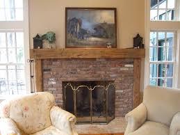 stylish rustic fireplace mantels