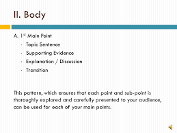 beyond the basics the advanced essay outline presented by  3 i introduction