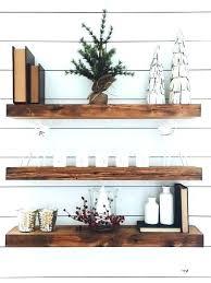 distressed wood shelves gallery of floating shelf hardwood useful reclaimed various rustic white wash floa white wood floating shelves