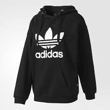 adidas hoodie womens. adidas trefoil hoodie women bk7138 black womens