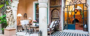 Luxury villas in Morocco and splendid riads and courtyard houses