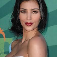 kim kardashian makeup looks 2008