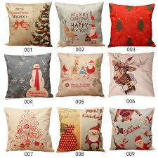Vintage Christmas Pillow Covers