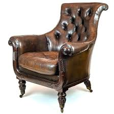 small leather armchair antique leather armchairs for beautiful regency tufted brown leather club small grey
