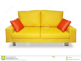 Living Room: Yellow Sofa Lovely Clean Yellow Sofa And Pillows Stock Photos  Image - Yellow