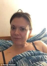 penny stretton posted this no make up selfie to raise awareness