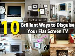 Hide Tv In Wall 10 Brilliant Ways To Disguise Your Flat Screen Tv Diy Crafts