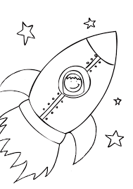 Small Picture Free Printable Rocket Ship Coloring Pages For Kids