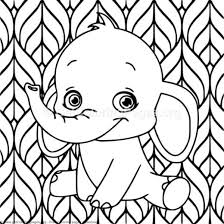 Elephant Coloring Pages Pdf Getcoloringpagesorg