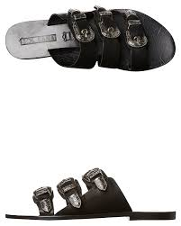 sol sana peggy womens leather slide