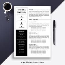 Modern Executive Resume Template 001 Modern Resume Template Word In Marvelous Ideas Cv