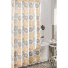 allen roth polyester multi fl shower curtain 72 in x 72 in